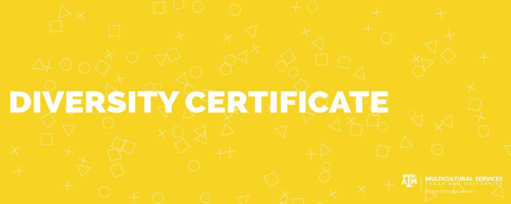diversity certificate