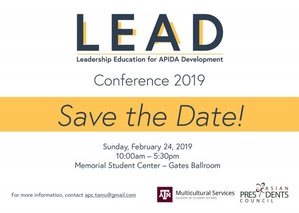 The Leadership Education for APIDA Development (LEAD) Conference 2019
