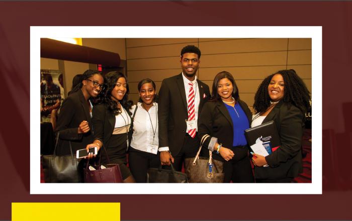 A group of SBSLC attendees pose for photo