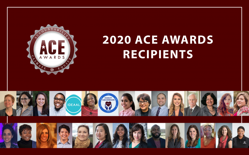 The 2020 ACE Awards recipients
