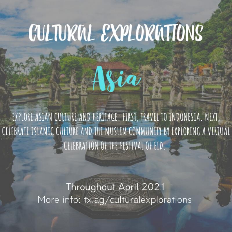 Virtual Cultural Explorations Asia